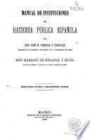 Manual de instituciones de hacienda pública española