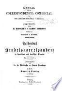 Manual de la correspondencia comercial en dos lenguas: española y alemana
