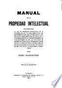 Manual de la propiedad intelectual