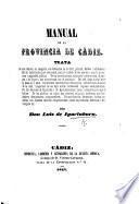Manual de la provincia de Cádiz