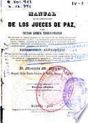 Manual de las atribuciones de los jueces de paz