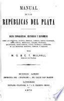 Manual de las repúblicas del Plata