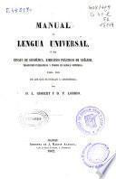 Manual de lengua universal