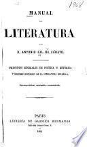 Manual de literatura