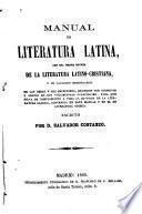 Manual de literatura latina