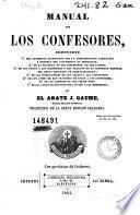 Manual de los confesores ...