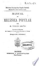 Manual de mecánica popular