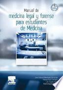 Manual de medicina legal y forense para estudiantes de Medicina + StudentConsult en español