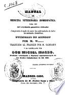 Manual de medicina veterinaria homeopática...