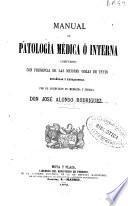Manual de patología médica o interna