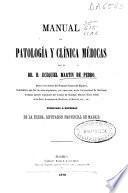 Manual de patología y clínica médicas