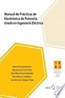 Manual de Prácticas de Electrónica de Potencia