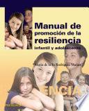 Manual de promoción de la resiliencia infantil y adolescente