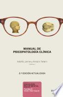 Manual de psicopatología clínica. 2a ed.