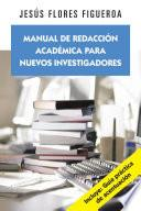 Manual de redacción académica para nuevos investigadores