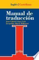 Manual de traducción inglés-castellano