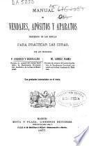 Manual de vendajes, apósitos y aparatos