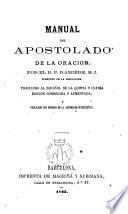 Manual del apostolado de la oración