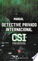 Manual del detective privado internacional