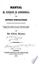 Manual del estudiante de jurisprudencia