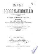 Manual del gobernadorcillo