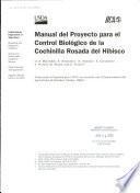 Manual del proyecto para el control biológico de la cochinilla rosada del hibisco