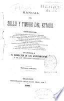 Manual del sello y timbre del Estado...