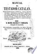 Manual del testador catalán