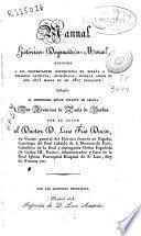 Manual historico-dogmático-moral