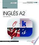Manual. Inglés A2 (SSCE02). Formación complementaria