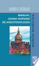 Manual Johns Hopkins de anestesiología