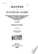 Manual para el cultivo del algodon