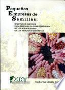 Manual para el Establecimiento de Pequenas Empresas de Semillas PES
