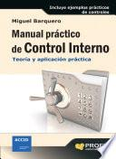 Manual práctico de Control Interno