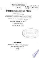 Manual práctico de las enfermedades de los niños...