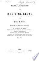 Manual practico de medicina legal