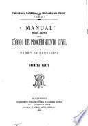 Manual teórico-práctico del Código de instrucción criminal