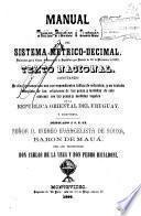 Manual teórico-práctico é ilustrado del sistema metrico-decimal