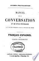Manuel de la conversation et du style épistolaire