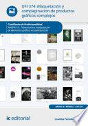 Maquetación y compaginación de productos gráficos complejos. ARGP0110