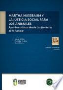 Martha Nussbaum y la justicia social para los animales