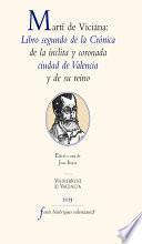 Martí de Viciana: Libro segundo de la crónica de la ínclita y coronada ciudad de Valencia y de su reino