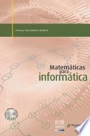 Matemáticas para informática