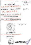 Medallas de las colonias, municipios y pueblos antiguos de España
