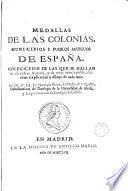 Medallas de las Colonias, municipios y pueblos antiguos de España...