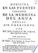 Medicina en las fuentes