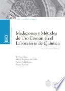 Mediciones y métodos de uso común en el laboratorio de Química
