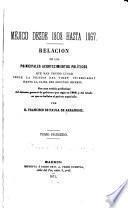Méjico desde 1808 hasta 1867