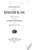 Memorandum de la revolución de 1891
