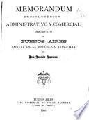 Memorandum enciclopédico administrativo y comercial
